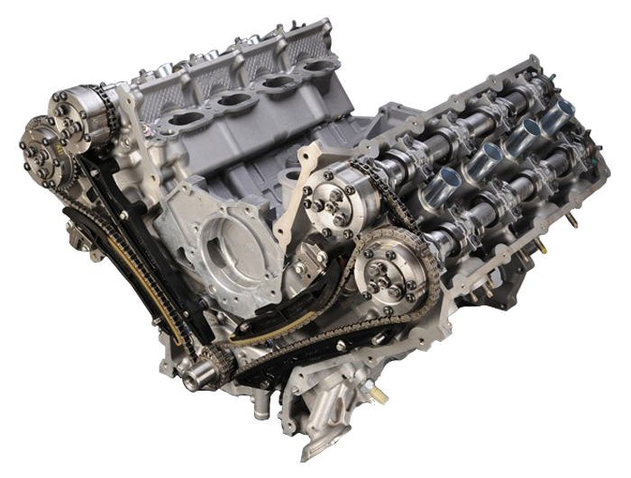 Dohc on Ford Coyote Engine Exploded View
